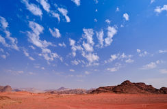 Wadi Rum Stock Photo