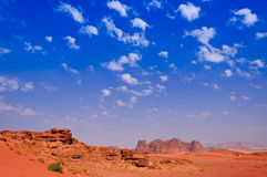 Wadi Rum Royalty Free Stock Photo