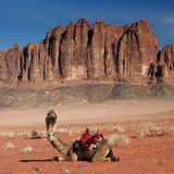 Wadi-Rum Lizenzfreies Stockfoto