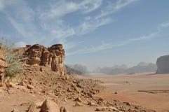 Wadi-Rum Stockbild