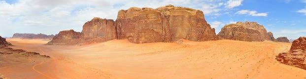 Wadi Rum fotografia stock