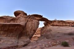 Wadi Rum Royalty-vrije Stock Afbeeldingen
