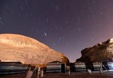 Wadi Rum Stock Afbeelding