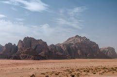 Wadi Rum Fotografering för Bildbyråer
