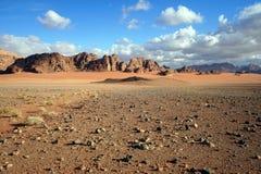 Wadi Rum Desert lizenzfreies stockbild