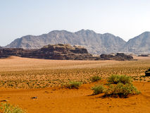 Wadi Rum desert Royalty Free Stock Images
