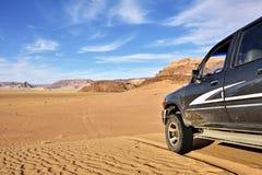 Wadi Rum Desert Imágenes de archivo libres de regalías