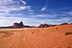 Wadi Rum Desert Royaltyfria Foton