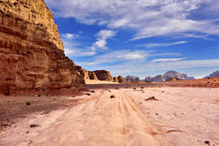 Wadi Rum Desert Royaltyfria Bilder