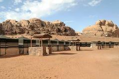 Wadi Rum Desert Fotografia Stock Libera da Diritti