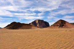 Wadi Rum Desert Fotografía de archivo libre de regalías