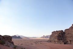 Wadi Rum Desert Imagen de archivo libre de regalías