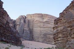 Wadi Rum Desert Imagenes de archivo