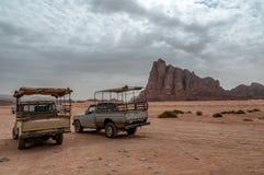 Wadi Rum Desert Images libres de droits