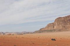 Wadi Rum Desert Royalty-vrije Stock Afbeeldingen