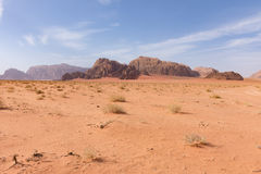 Wadi Rum Desert Fotos de Stock