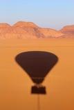 Wadi rum desert from above. Jordan Stock Images