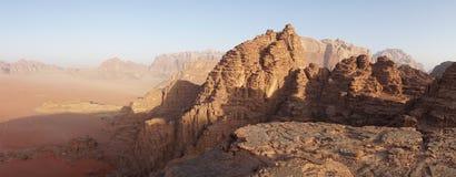 Free Wadi Rum Desert And Sandstone Landscapes In Jordan. Stock Image - 188150561