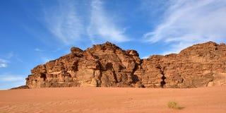 Wadi Rum desert, Jordan Royalty Free Stock Photography