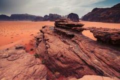 Wadi Rum desert, Jordan. Royalty Free Stock Photography