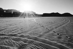 Wadi Rum Desert, Jordan Stock Image