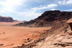 Wadi Rum desert, Jordan Royalty Free Stock Images