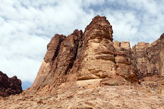 Wadi Rum desert, Jordan Royalty Free Stock Photo