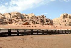 Wadi Rum desert Stock Photo