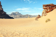 Wadi Rum desert Stock Photos