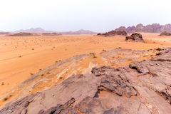 Wadi rum desert in Jordan Royalty Free Stock Image