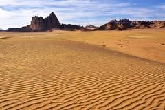 Wadi Rum desert Stock Image