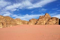 Wadi Rum desert Royalty Free Stock Image