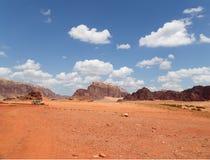 Wadi Rum Desert, southern Jordan Stock Photos