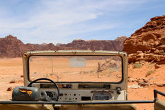 Wadi Rum Desert, southern Jordan Royalty Free Stock Photography