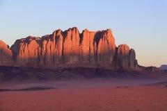 Wadi Rum-Giordano Immagine Stock Libera da Diritti