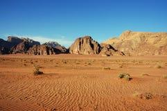 Wadi Rum, Jordan. royalty free stock photography