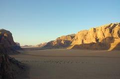 Wadi Rum, Jordan. Royalty Free Stock Image