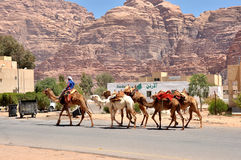 Wadi Rum - Jordan Royalty Free Stock Photography