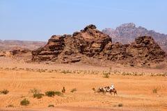 Wadi Rum, Jordan Stock Photos