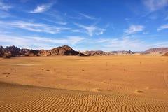 Wadi Rum, Jordan Royalty Free Stock Photography