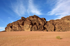 Wadi Rum, Jordan Royalty Free Stock Images