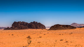 Wadi Rum , Jordan Royalty Free Stock Photography