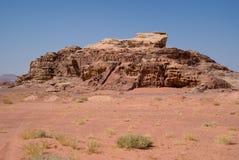 Wadi Rum, Jordan. Rock formations Stock Images