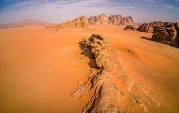 Wadi Rum Jordan, szenische Standorte in Jordanien stockbilder