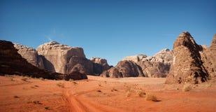 Wadi Rum Jordan. Taken in 2011 Stock Photography