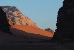 Wadi Rum-Jordan Stock Photography