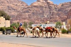 Wadi Rum - Jordanië Royalty-vrije Stock Fotografie