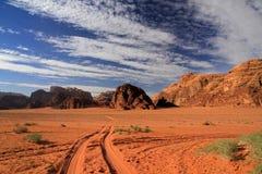 Wadi Rum/Jordanien Royaltyfri Bild