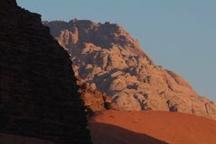 Wadi Rum-Jordan Royalty Free Stock Photography