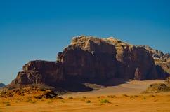 Wadi Rum Landscape Stock Image
